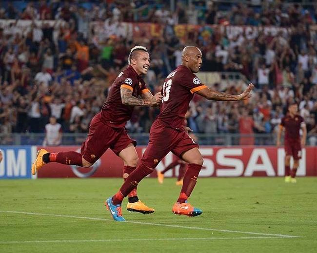Maicon & Nainngoolan :: Roma 5-1 Cska