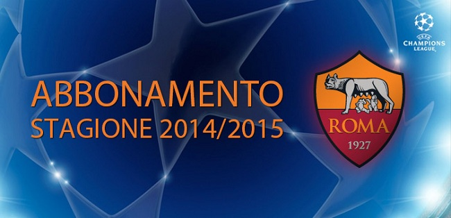 UCL 2014-2015 AS Roma