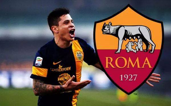 Juan Manuel Iturbe - AS Roma